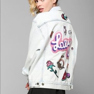 Lazy Oaf Oversized Denim Jacket